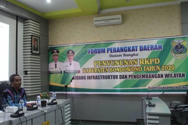 FORUM PERANGKAT DAERAH DALAM RANGKA PENYUSUNAN RKPD KABUPATEN BONDOWOSO TAHUN 2020