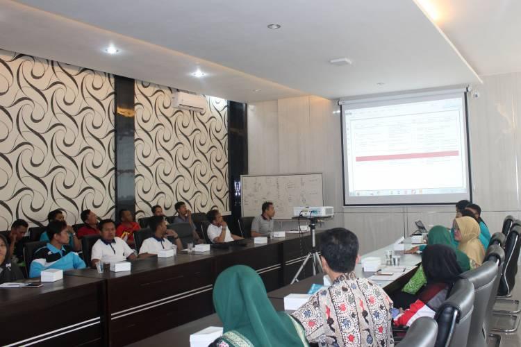 Rapat Evaluasi Keterisian Usulan Kegiatan Dana Alokasi Khusus (DAK) Fisik Tahun Anggaran 2020